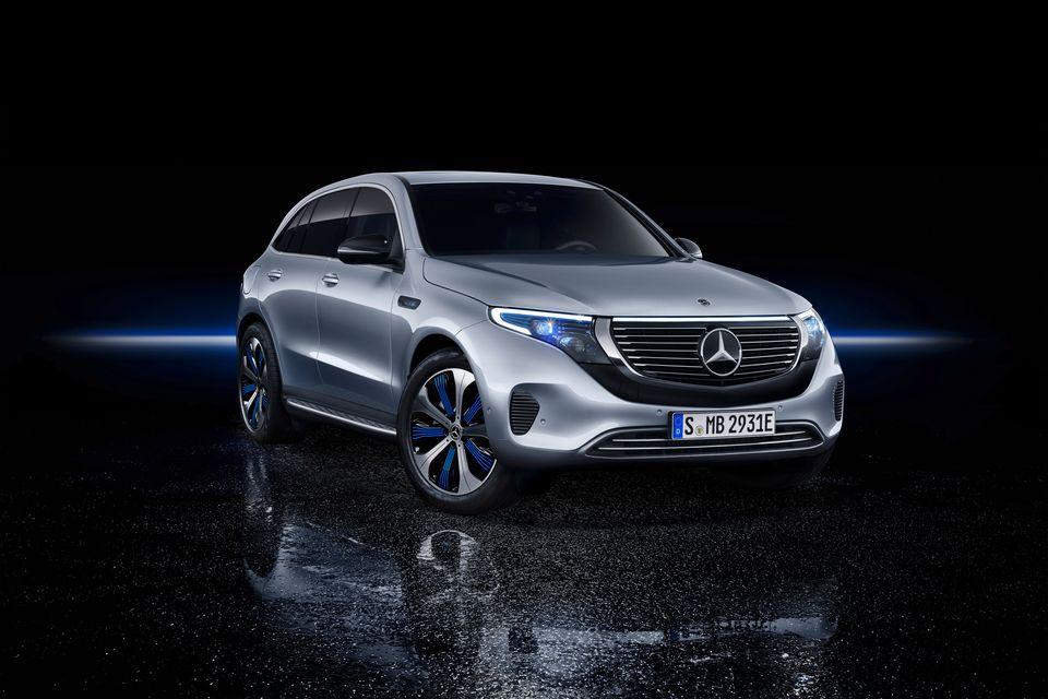 Der neue Mercedes-Benz EQC